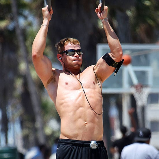 Kellan Lutz Shirtless, Running Pictures