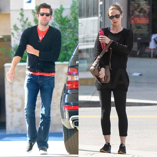 Pictures of Emily Blunt and John Krasinski Hanging Out in LA