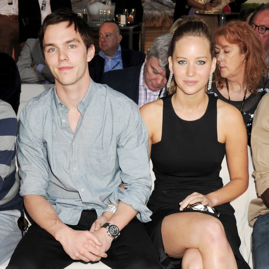 Boyfriend Nicholas Hoult Talks About Jennifer Lawrence
