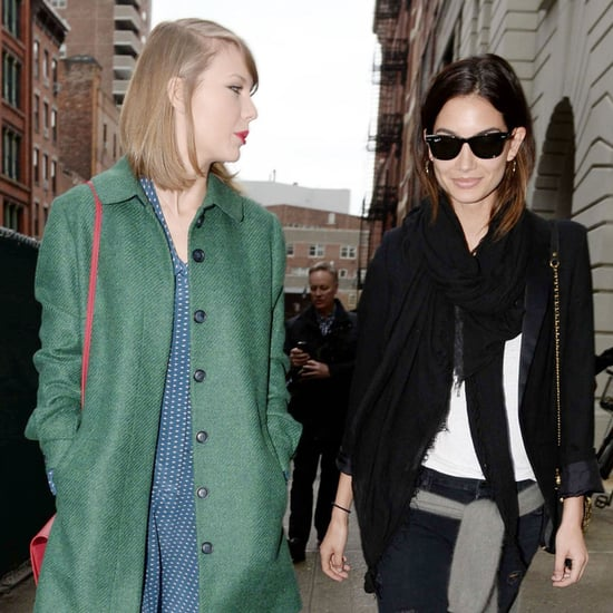 Taylor Swift and Lily Aldridge Hang Out in NYC | Pictures