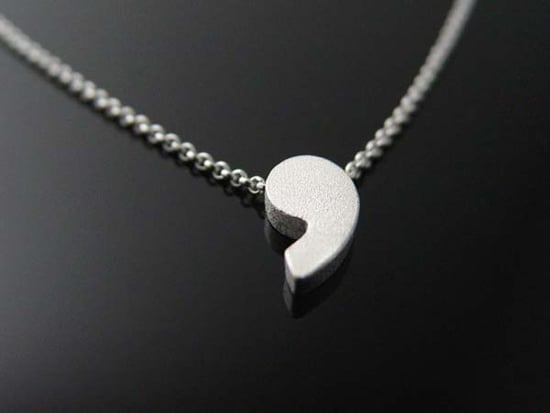 Pause Perfection: The Comma Pendant Necklace
