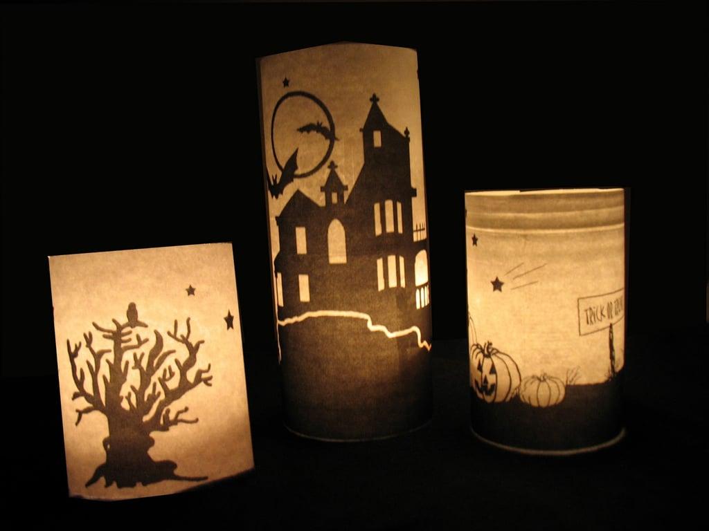 Pottery Barn-Inspired Luminaries