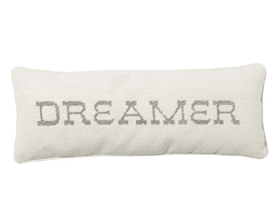 Dress up your best friend's nest with this sparkly dreamer pillow ($60) from celebrity stylists Emily Current and Meritt Elliott's collaboration with PB Teen.  — Lauren Turner, celebrity and features editor