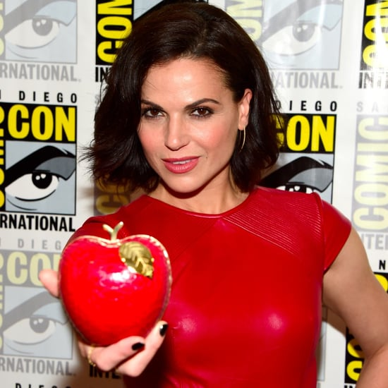 Lana Parilla's Poison Apple Clutch Bag