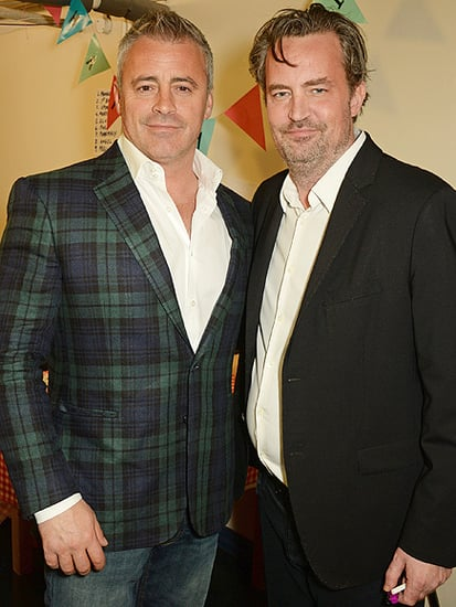 London Baby! Matt LeBlanc and Matthew Perry Have a Friends Reunion Across the Pond