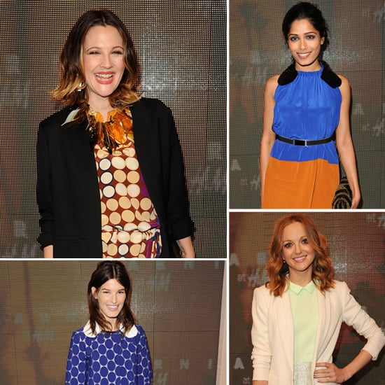 Drew Barrymore and More Share Favorite Colors and Go-To Pieces at the Marni For H&M Collection Launch!