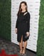 Minka Kelly went for a black dress.