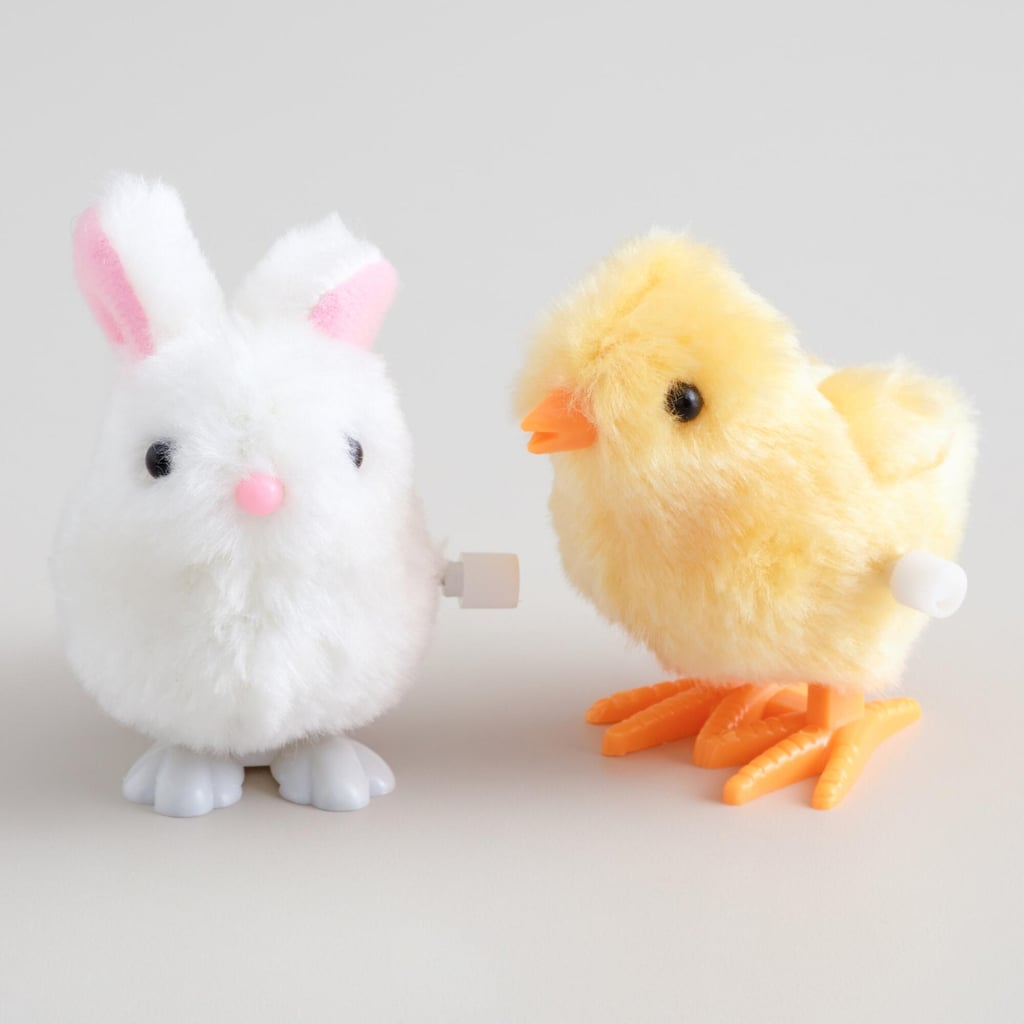 Easter Bunny and Chick Wind-Up Toys