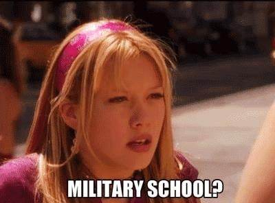 When Kelly Isn't Too Happy With Her Parents in Cadet Kelly