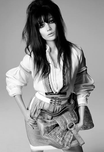 Daisy Lowe Stars in Pringle for Scotland Ad Campaign Spring 2009