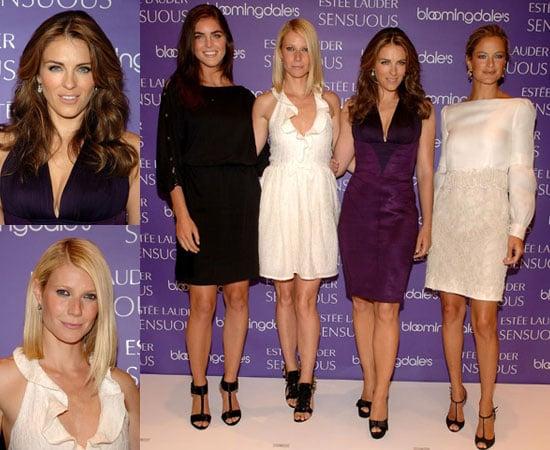 Photos of Gwyneth Paltrow, Elizabeth Hurley, Carolyn Murphy and Hilary Rhoda