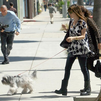 Rachel Bilson, Her Mother, and Thurman Murman Out in LA