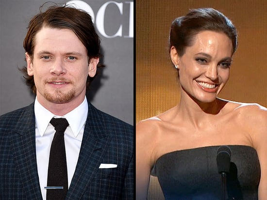 Unbroken Actor Jack O'Connell Toasts 'Her Ladyship' Angelina Jolie at Hollywood Film Awards