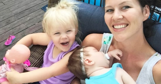This Mom's Diaper Blowout Photo Sums Up the Realities of Parenthood