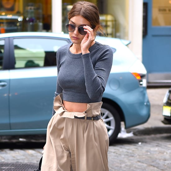 Let Gigi Hadid Convince You to Give This Ultracomfortable Trouser Style a Try