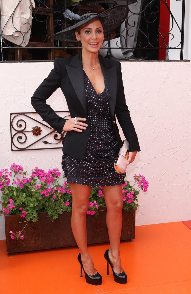 Natalie Imbruglia proves she's got the X Factor. Frocktastic in dots.