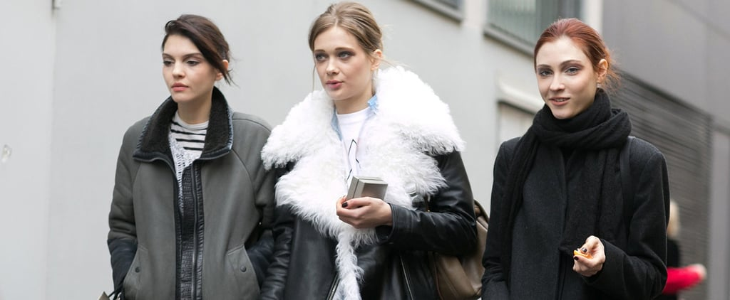 The Top Models Buddied Up on the Last Day of MFW