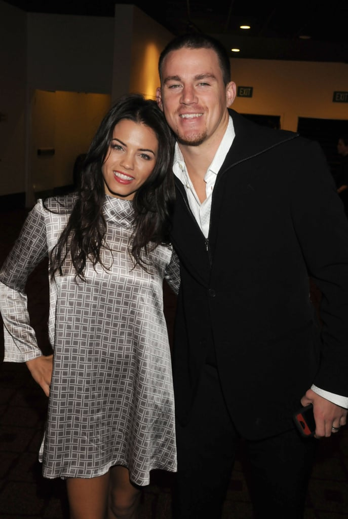 Jenna and Channing appeared at the Feburary 2008 premiere of Step Up 2 in LA.