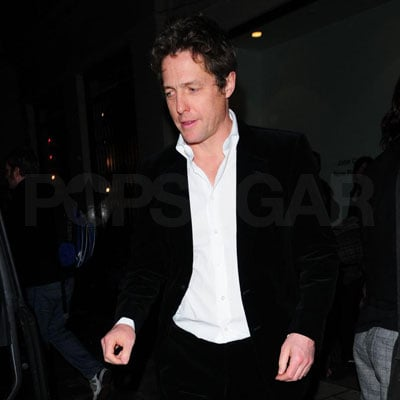 Hugh Grant Out in London