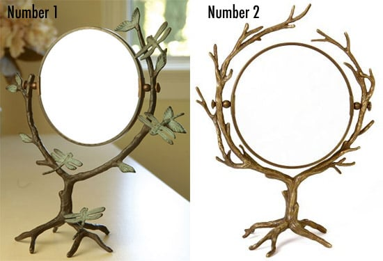 Less or More: Branch Vanity Mirrors