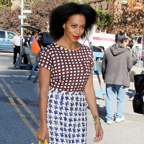Solange Knowles Yellow Purse