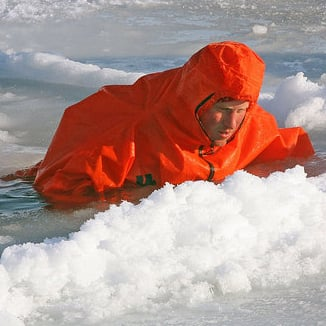 Picture of Prince Harry in the North Pole