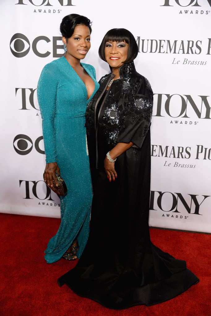 Patti LaBelle and Fantasia looked picture-perfect.