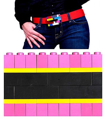 The Lego Belt Buckle