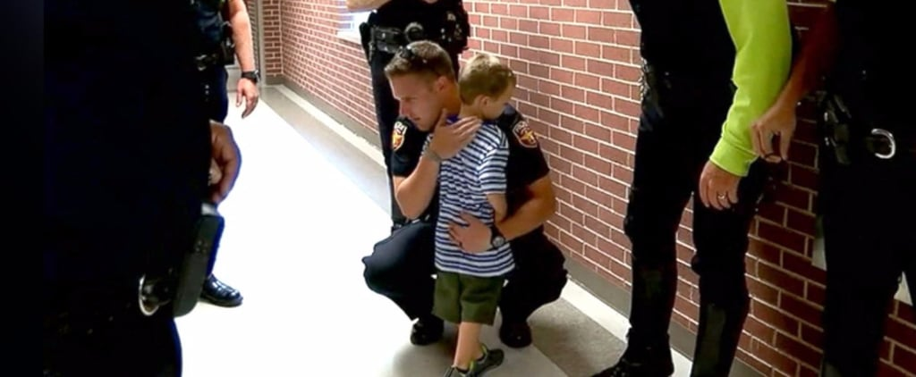 This Story of Texas Police Who Surprised the Kids of a Fallen Officer Will Melt Your Heart