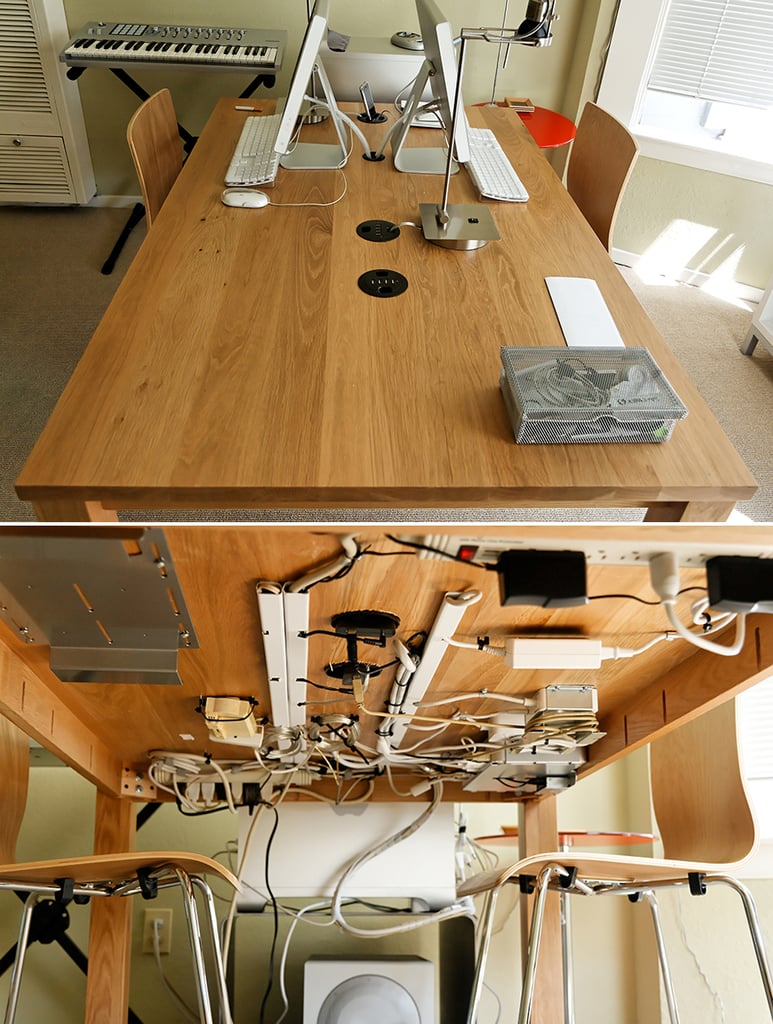 Tack Wires Under Your Table