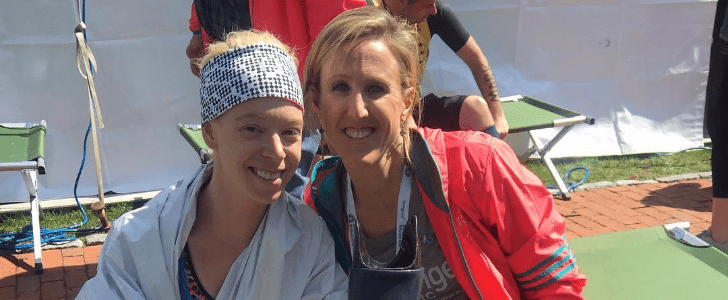 11 Hours Later, With Hands Triumphantly Raised, Bombing Survivor Makes It to the Finish Line