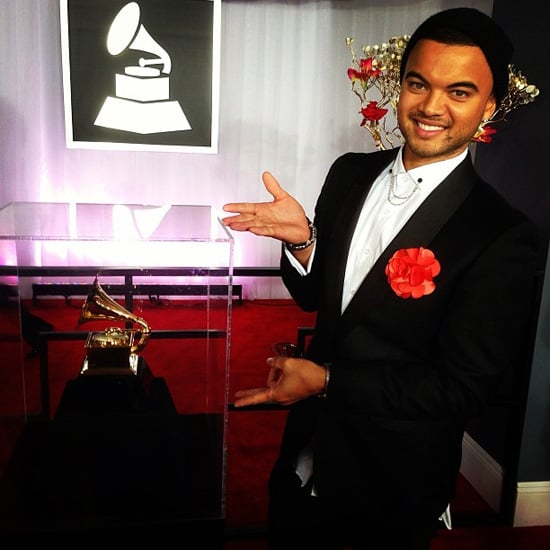 Celebrity Twitter and Instagram Pictures 2013 Grammy Awards