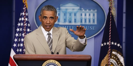 Obama's Tan Suit Applauded By Fashion Industry