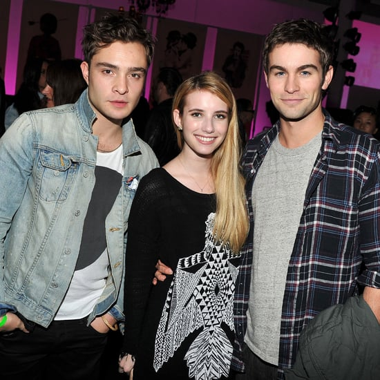 Ed Westwick, Chace Crawford at Samsung Galaxy Party Pictures