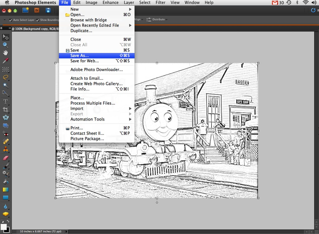 Save the Sketch as a New File