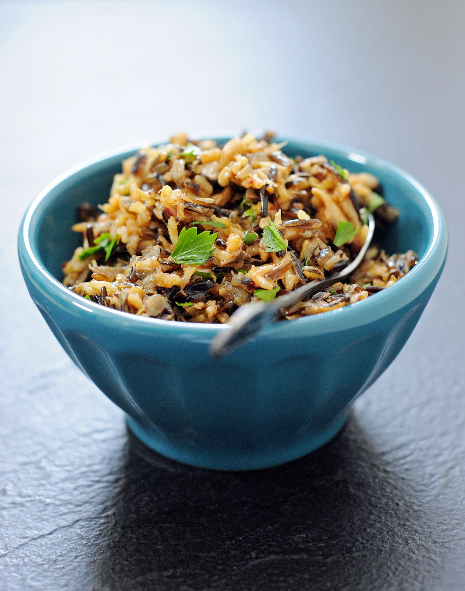Wild Rice Stuffing With Mushrooms