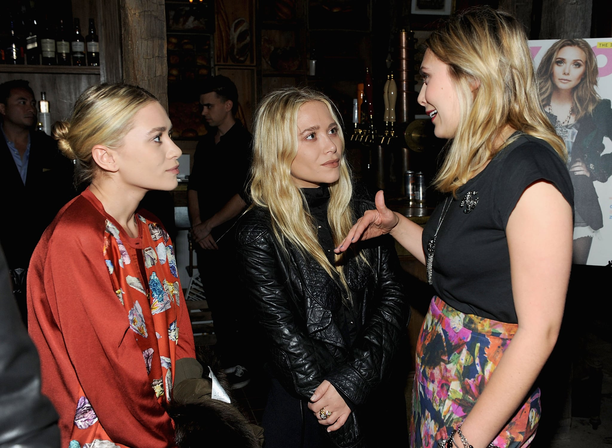 Twins Auto Mall >> Mary-Kate, Ashley and Elizabeth Olsen Pictures at Nylon Magazine Party | POPSUGAR Celebrity ...
