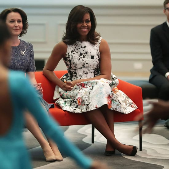 Michelle Obama's Dress While Visiting the Renwick Gallery