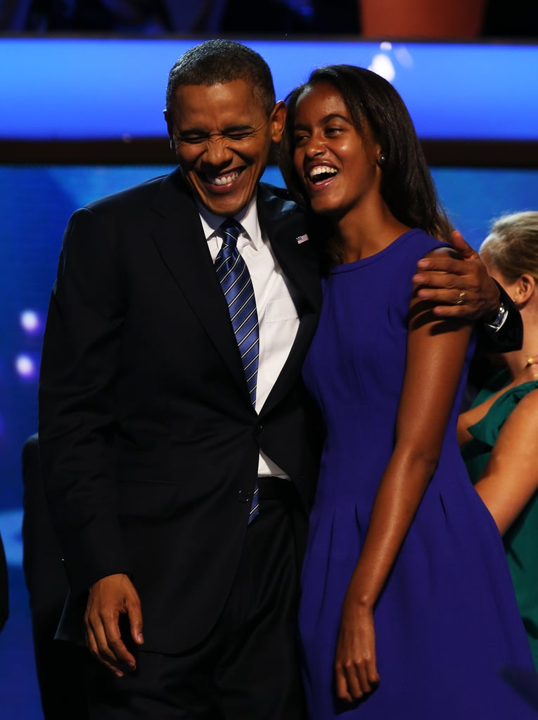 """In Obama's 2011 Father's Day speech, he shared his thoughts on what kids need: """"Our kids are pretty smart. They understand that life won't always be perfect, that sometimes, the road gets rough, that even great parents don't get everything right. But more than anything, they just want us to be a part of their lives."""""""