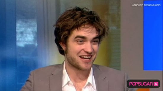 Robert Pattinson's Interview on The Early Show
