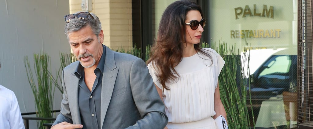 George and Amal Clooney Light Up LA With Their Love