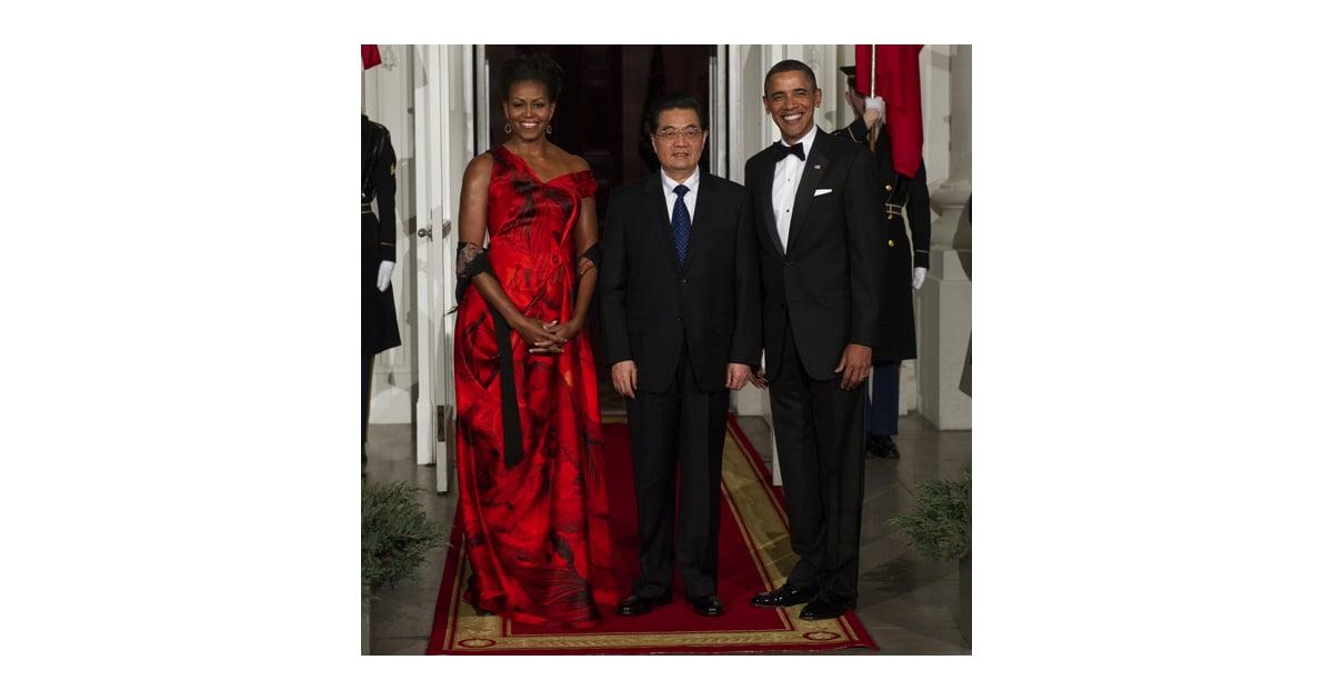 Pictures of Michelle and Barack Obama at China State Dinner Alexander ...