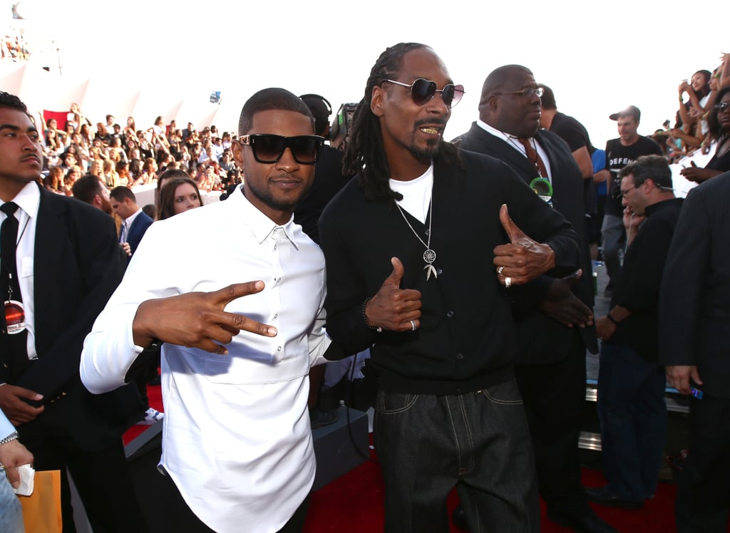 Usher and Snoop Dogg