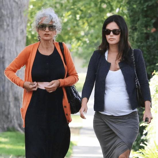 Pregnant Rachel Bilson Walking With Her Mom in LA