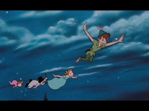 """You Can Fly,"" Peter Pan"