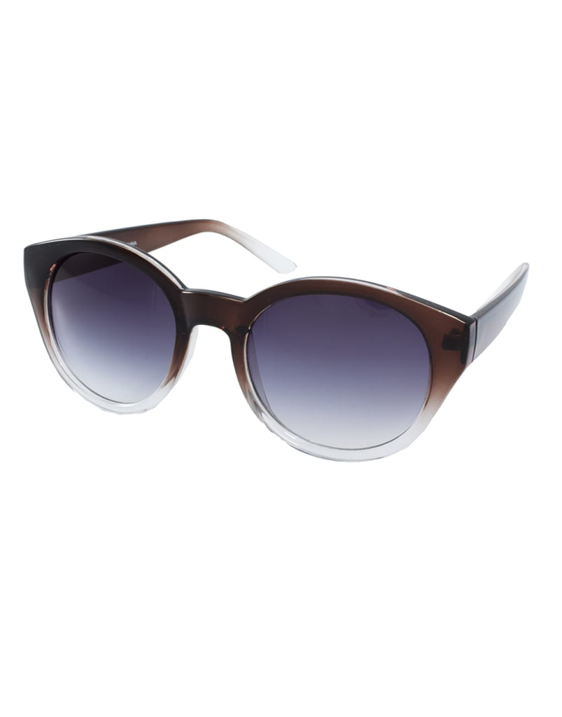 There's a subtle blue ombre effect on these shades that'll lend cool-girl edge everywhere you wear them.  AJ Morgan Marlo Sunglasses ($25)