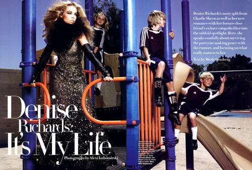 Denise in Harper's Bazaar