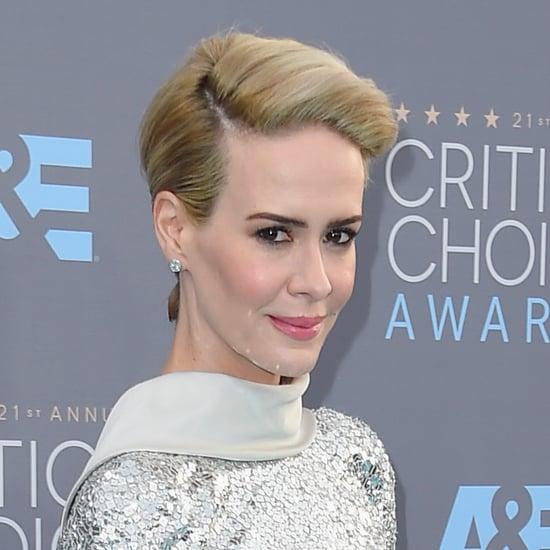 Sarah Paulson's Hair at the Critics' Choice Awards