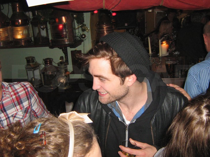 Pictures of Robert Pattinson on His New Year's Eve in Isle of Wight With Kristen Stewart