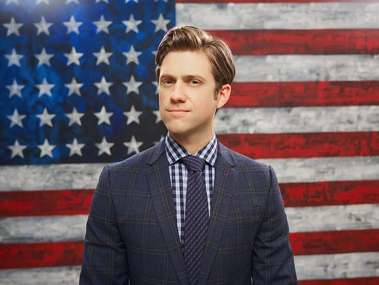 Grease: Live! Star Aaron Tveit Says Echoes of the 2016 Election in His New Zombie Political Satire BrainDead Hit a Little Too Cl